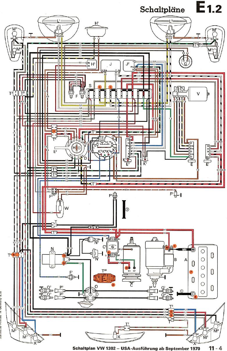 Similiar 68 VW Wiring Diagram Keywords